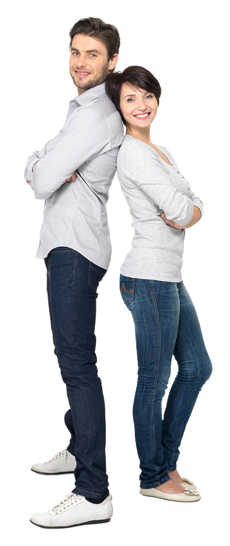 Kontakt junges Paar
