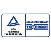 Toxproof Zertifikat